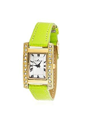 Via Nova Women's NWL308522G-GR-Z Green Leather Watch