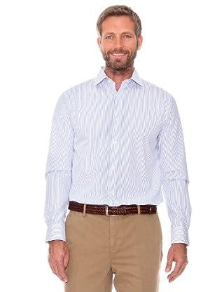 Cortefiel Camisa Rayas (azul marino)