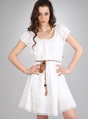 Flamenco Vestido Puchi (blanco)