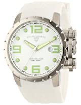 Swiss Legend Watches, Men's Ambassador White Dial White Silicone, Model 30021-02