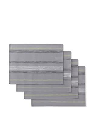 Winkler Set of 4 Paint Placemats (Grey)