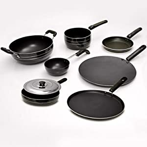 Seven Pieces Branded Non Stick Cookware Kitchen Set