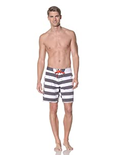Rhythm Men's Butch Swim Short (Black)