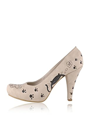 Dogo High Heel Dental Cat (Creme)