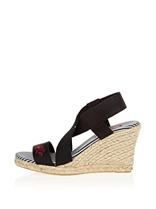 US Polo Assn Wedges Bella (Schwarz)