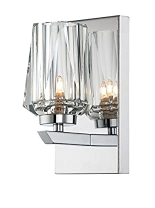 Alternating Current 1-Light Ginsu Bath, Chrome