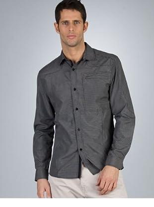 PEPE JEANS lancaster black shirt lancaster black shirt schwarz, weiß XL