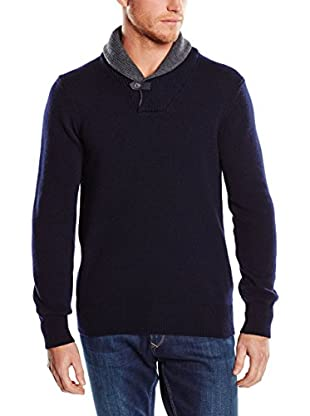 Hackett London Jersey Lana Shwl Collar Tog