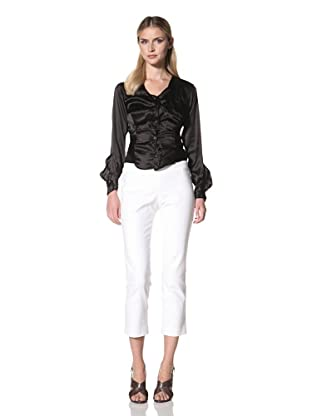 Vivienne Westwood Women's Anglomania Twisted Blouse (Black)