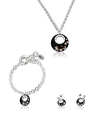 Louise Zoe Conjunto de collar, pulsera y pendientes