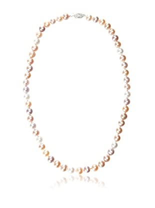 Radiance Pearl 7-8mm Multicolor Freshwater Pearl Necklace