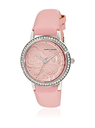 NAF NAF Quarzuhr Woman BC RD RELIEF FLEURS - ROSIE 36 mm