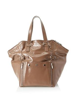 Yves Saint Laurent Women's Patent Leather Downtown Bag, Blush