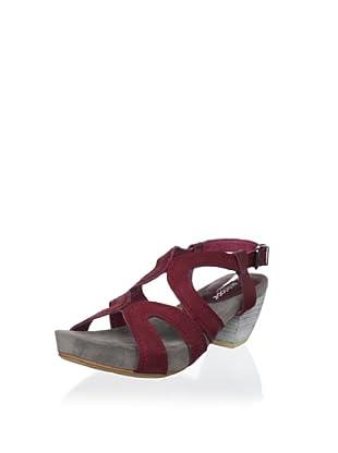 Antelope Women's Mid-Heel Sandal (Grey)