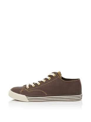 PRO-Keds Men's 69er Lo Twill Sneaker (Brown)