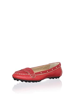 Adrienne Vittadini Women's Tanya Loafer (Red)