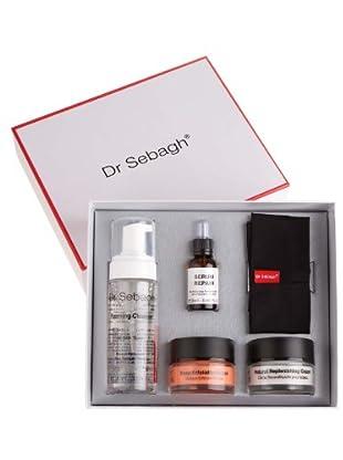 Dr. Sebagh Favorite Gift Box(Natural Replenishing Cream 50ml+Deep Exfoliating Mask 50ml+ Serum Repair 20mlFoaming Cleanser 150ml+Dr. Sebagh Headband)