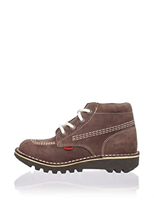Kickers Kid's Rallye-85 Bootie with Laces (Little Kid)