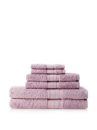 Laura Ashley 6-Piece Towel Set, Lavender