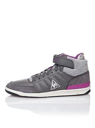 Le Coq Sportif Zapatillas Retro Sport Diamond Lea (Gris / Púrpura)