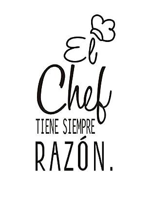 SuperStudio Wandtattoo El Chef Siempre Tiene La Razón