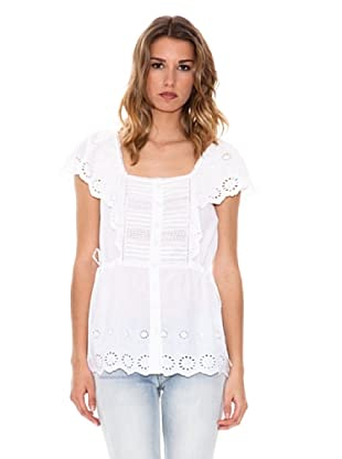 Pepe Jeans London Bluse Louise (Weiß)