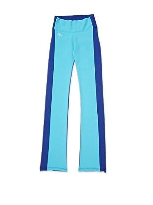 Naffta Pantalón Ajustado (Azul / Turquesa)