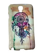 Dream Catcher Designer Print Snap-On Hard Slim Back Flexible Bumper Case Cover For Samsung Galaxy Note 3 Neo N7505