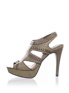 MaxStudio Women's Xist Platform Sandal (Khaki)