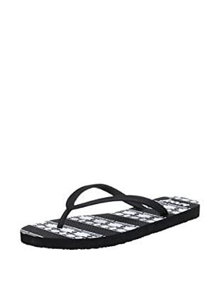 Reef Chanclas Skinny Recife (Negro/Blanco)