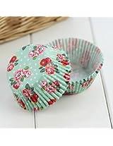 100 PCS Mini Paper Muffin Cupcake Cup Liner