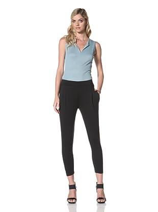 Maggie Ward Women's Summer Sweats Sarong Pant (Black)