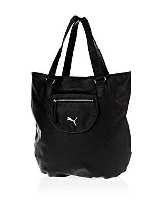 Puma Damen Handtasche Allure Shopper, 4.5 liters (Black)