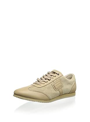 Dolce & Gabbana Men's Monochrome Sneaker (Beige)