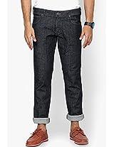 Black Regular Fit Jeans (Rockville) Wrangler