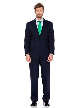 Cortefiel Klassischer Anzug (Blau)
