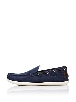 Sebago Zapato Mocasín Pala Lisa (Azul)