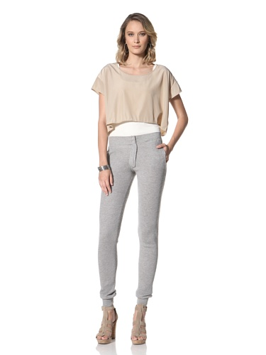 Paul & Joe Women's Obus Capri Knit Pants (Grey)