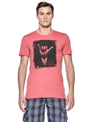 Rip Curl T-Shirt Shaka S/S Tee (Rosso)