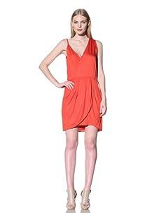 Rebecca Minkoff Women's Delhia Draped Dress (Clambake)