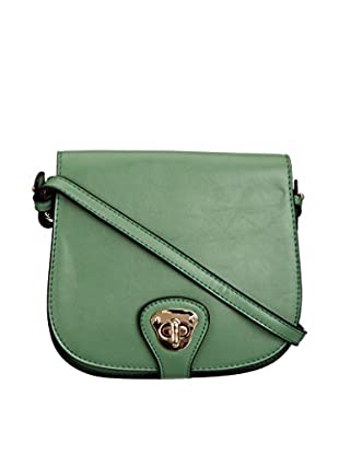Louche Bags Bolso Bags Womens Mary-Kate Cross-Body Bag (Verde)