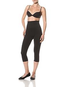 Cass Women's Contour Knee-Length Shaper (Black)