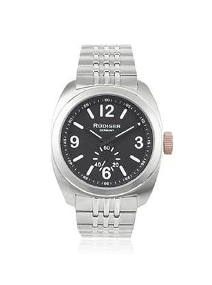 Rudiger Men's R5001-04-007.1 Siegen Black/Stainless Watch