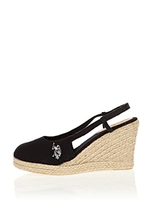US Polo Assn Wedges Emma (Schwarz)