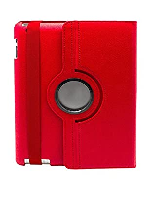 Funda 360º iPad 2 / 3 / 4 Rojo