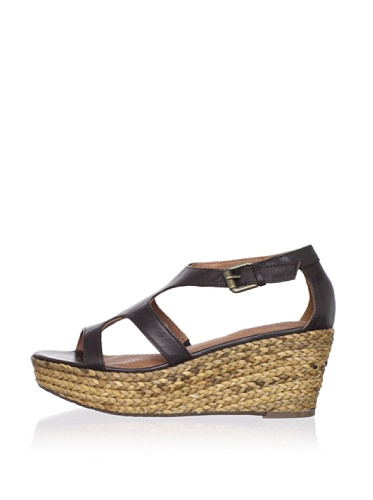 Corso Como Women's Parable Wedge Sandal (Coffee)