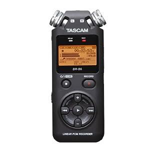 【国内正規品】 TEAC TASCAM リニアPCM/ICレコーダー DR-05