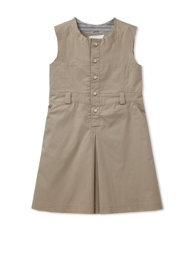 kicokids Girl's Sleeveless Safari Dress (Perle)