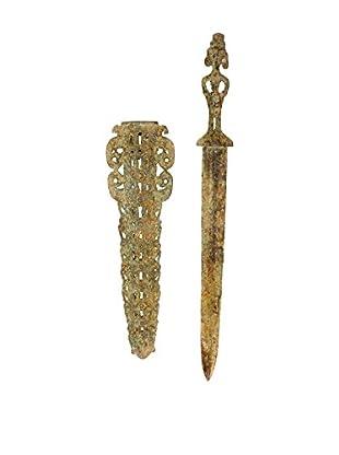 Asian Loft Bronze Sword and Sheath
