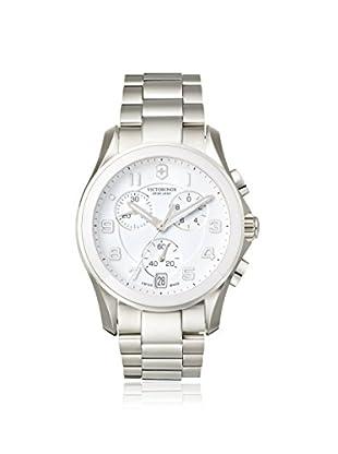Victorinox Swiss Army Men's 241538 Chrono Classic Ceramic Silver/White Stainless Steel Watch